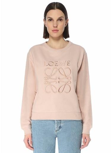 Loewe Loewe  Logo Nakışlı Sweatshirt 101613479 Pembe